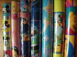 "Disney Wrapping Paper Ambassador 15 sq ft 30"" Rolls Hard To"