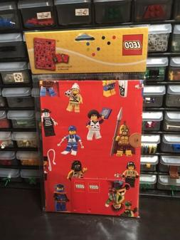 Lego Wrapping Paper with Gift Tags Birthday Gift Wrap ~ 2 Sh
