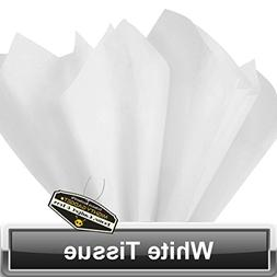 100 Pack x Mighty Gadget  Super White Colored Tissue Paper S