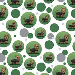 Yorkshire Terrier Yorkie with Tongue Out Premium Gift Wrap W