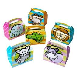 6.25-inch Zoo Animal Treat Boxes